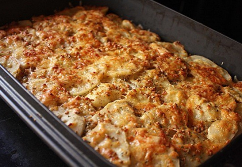 Рецепт мясной запеканки с картофелем